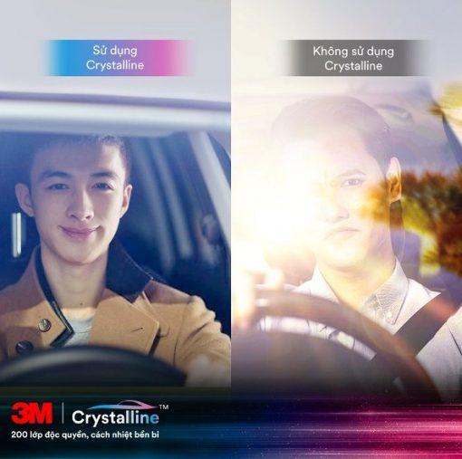 Khả năng chống nắng của Phim Cách Nhiệt Kính Lái 3M Crystalline CR60 vô cùng tuyệt vời