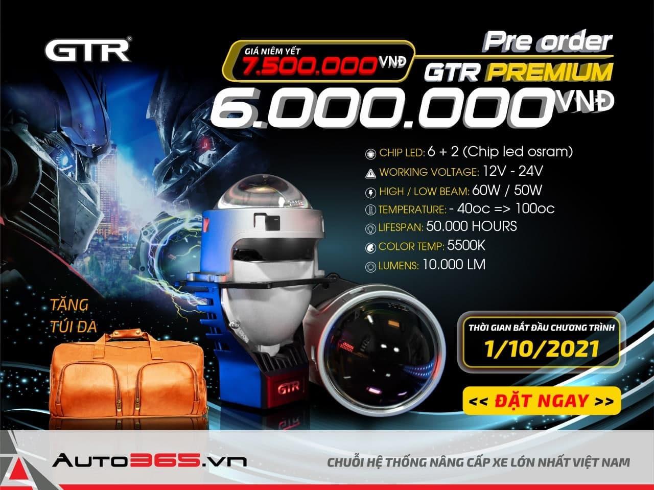 BI LED GTR G LED PREMIUM khuyen mai
