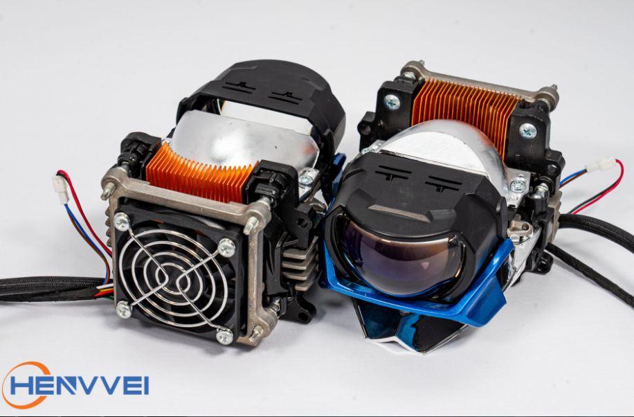 Bi Laser Henvvei L93 được tích hợp quạt tản nhiệt hiện đại