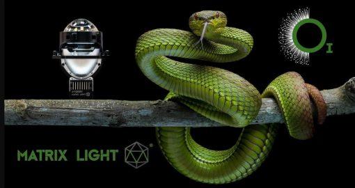 Bi Led Matrix Light O1