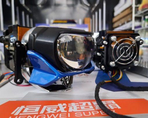 Cận cảnh chi tiết của chiếc Bi Laser Henvvei L91