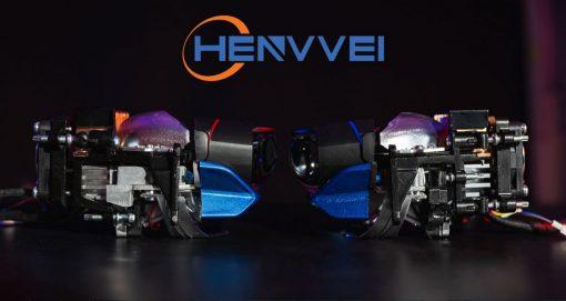 Góc ngang của chiếc Bi Laser Henvvei L92 Pro