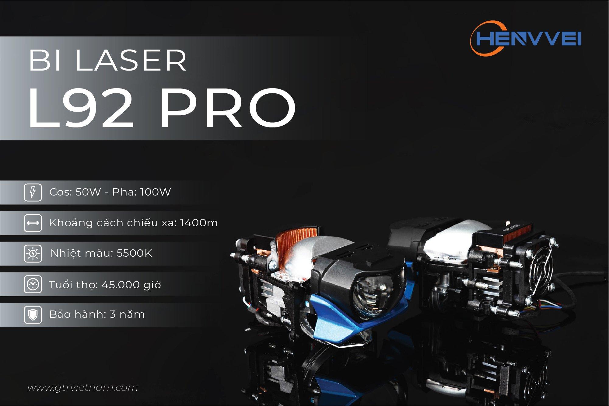 Bi Laser Henvvei L92 Pro