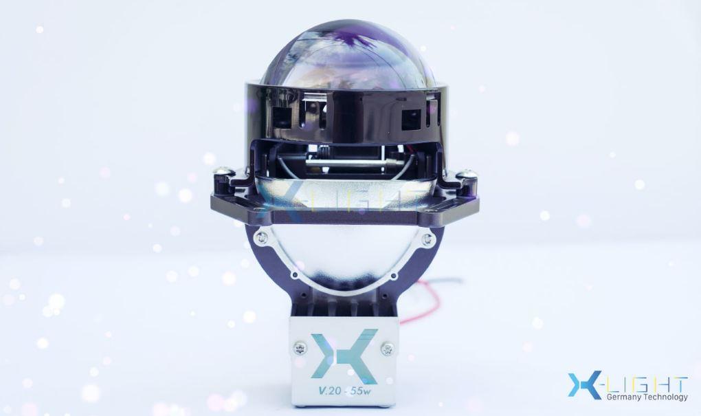 Mặt nghiêng sang chảnh của Bi Led X-Light V20