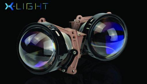Thiết kế mặt trước của Bi Laser X-Light V20L Ultra