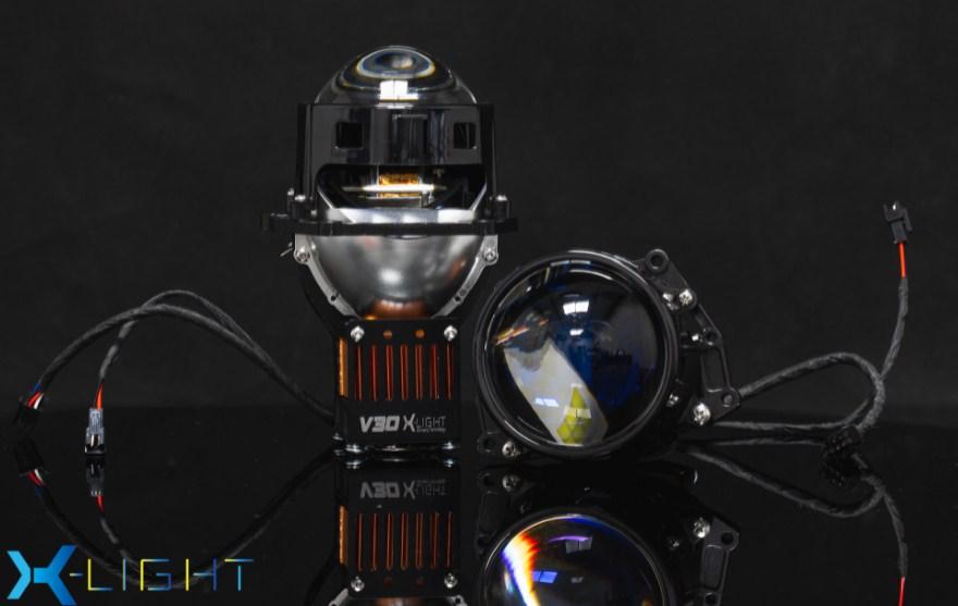 Thiết kế mặt trước sang chảnh của Bi Led X-Light V30 Ultra