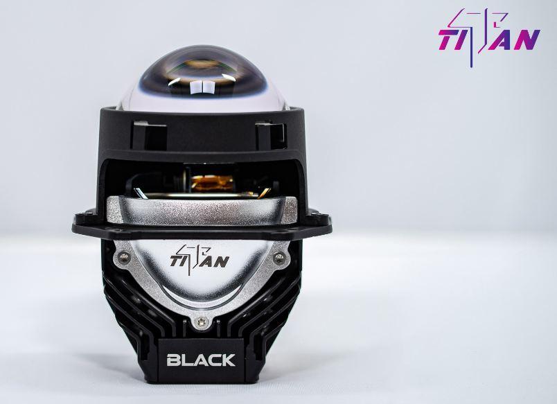Thiết kế nhỏ gọn của Bi Led Titan Black 5000K SE