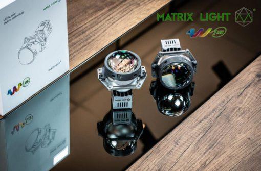 Thiết kế sắc nét của Bi Led Matrix Light W1