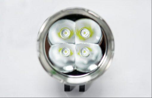 Cận cảnh chip led của chiếc đèn trợ sáng X-Light M60 Plus