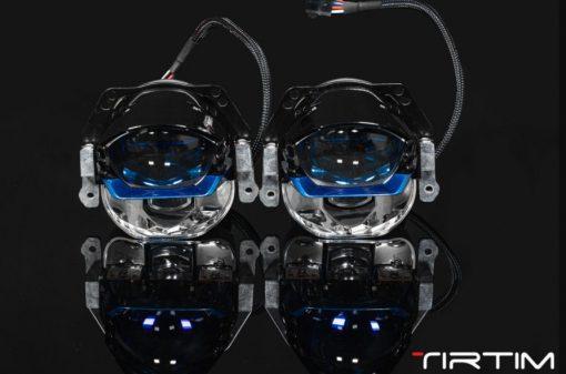 Cận cảnh mặt trước của Bi Laser Tirtim S600