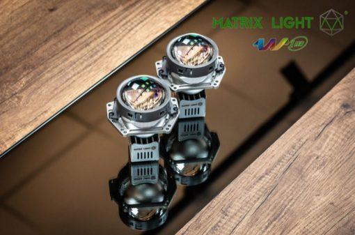 Cặp Bi Led Matrix Light W1