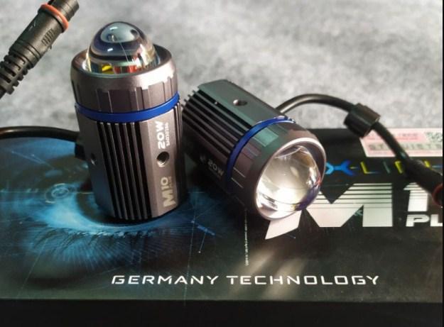 Đập hộp cặp đèn trợ sáng Mini X-Light M10 Plus