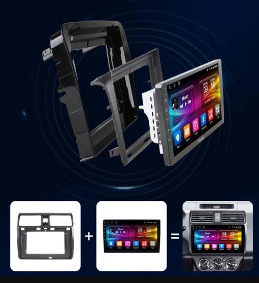 Cấu tạo của màn hình ô tô owmice c970 premium