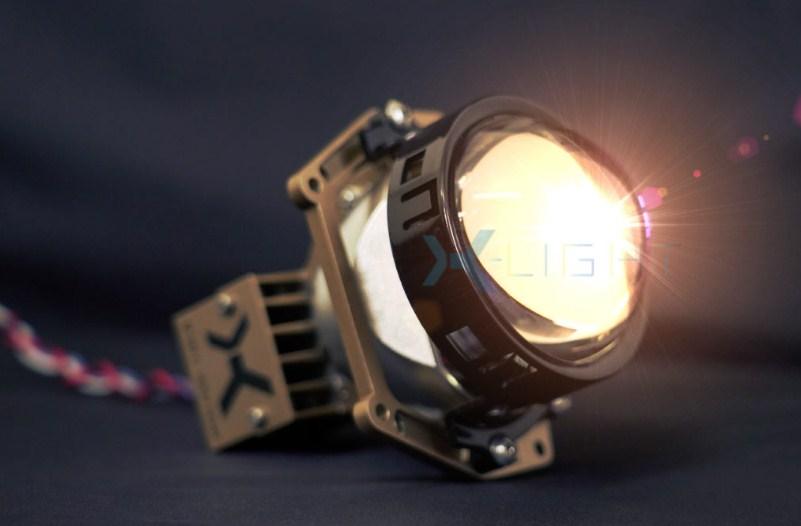Chất lượng ánh sáng siêu xịn của Bi Laser X-Light V20L