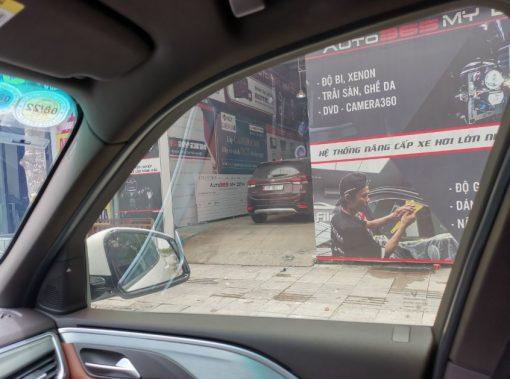 Dán phim cách nhiệt 3M Ceramic IR50 uy tín tại Auto365 Mỹ Đình Hà Nội