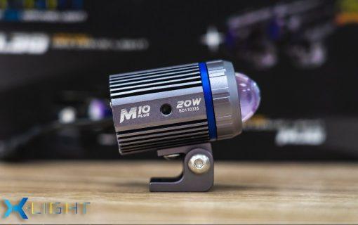 Góc nghiêng thần sầu của đèn trợ sáng Mini X-Light M10 Plus