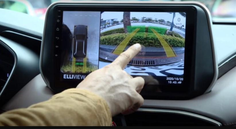 Hình ảnh thực tế màn hình ô tô owmice c970 premium