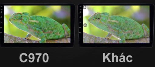 Khác biệt của màn hình ô tô owmice c970 premium so với sản phẩm khác