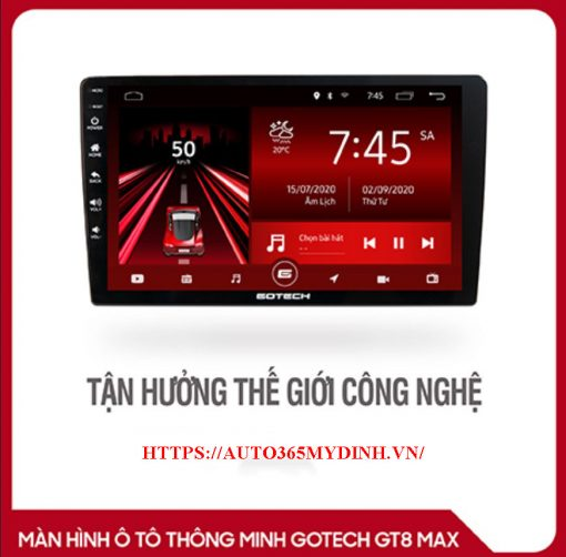 Màn hình android ô tô Gotech GT8 Max