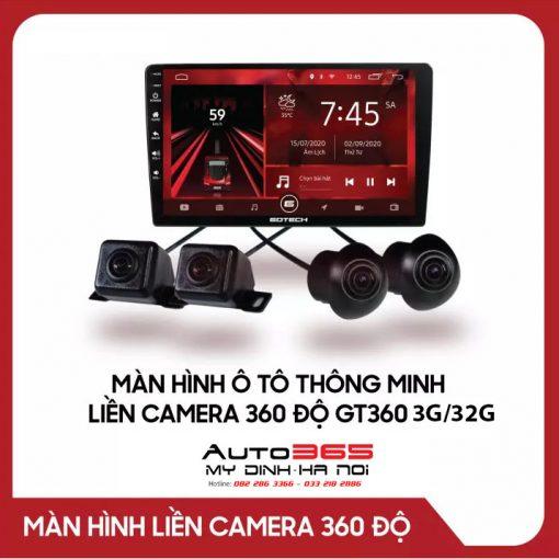 Màn hình android Gotech GT360 [3g/32g] liền camera 360