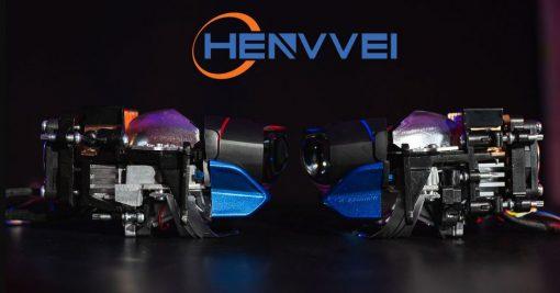 Thiết kế mặt ngang của Bi Laser Henvvei L92