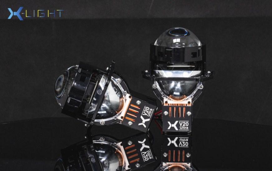 Mặt ngang của Bi Led X-Light V20 Ultra