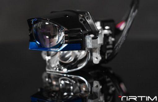 Mặt nghiêng của Bi Laser Tirtim S600