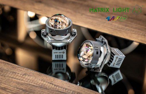 Mặt trước của Bi Led Matrix Light W1