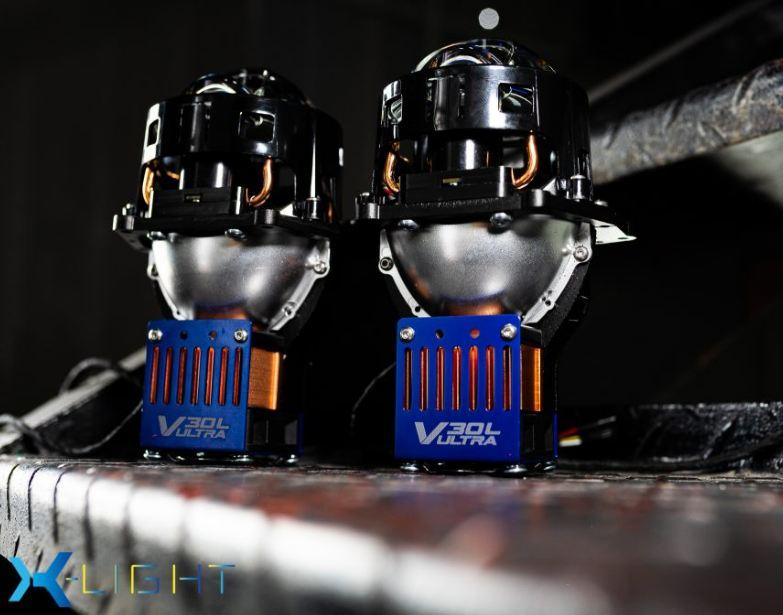 Màu sắc siêu đẹp của Bi Laser X-Light V30L Ultra