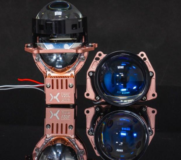 Màu sắc sang chảnh của Bi Laser X-Light V20L Ultra