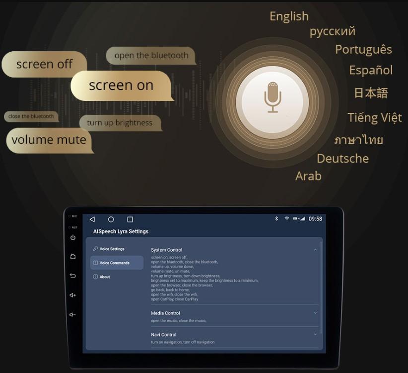 owmice c970 premium hỗ trợ giọng nói nhiều ngôn ngữ