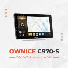 màn hình ô tô DVD android C970-S