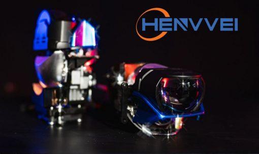 Thiết kế long lanh của chiếc đèn Bi Laser Henvvei L92