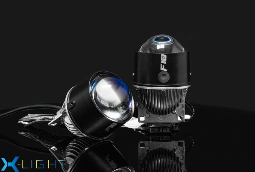 Thiết kế mặt trước của Bi Gầm Led X-Light F10