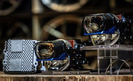 Thiết kế sắc nét của Bi Laser Henvvei L91