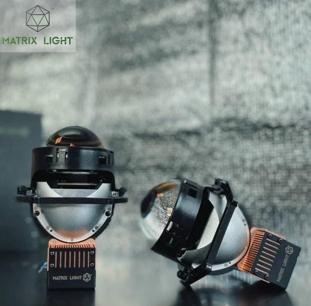 Thiết kế sắc nét của Bi Laser Matrix Light O2