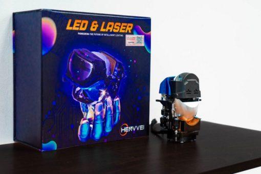 Thiết kế vỏ hộp siêu xịn của Bi Laser Henvvei L92 Pro