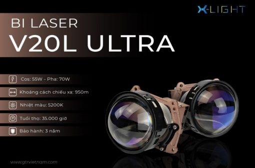 Thông số kỹ thuật của Bi Laser X-Light V20L Ultra