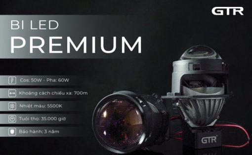 Thông số kỹ thuật của Bi Led GTR G-Led Premium