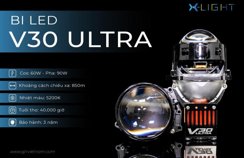 Thông số kỹ thuật của Bi Led X-Light V30 Ultra