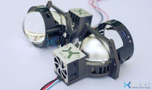 Toàn cảnh thiết kế của Bi Led X-Light V20