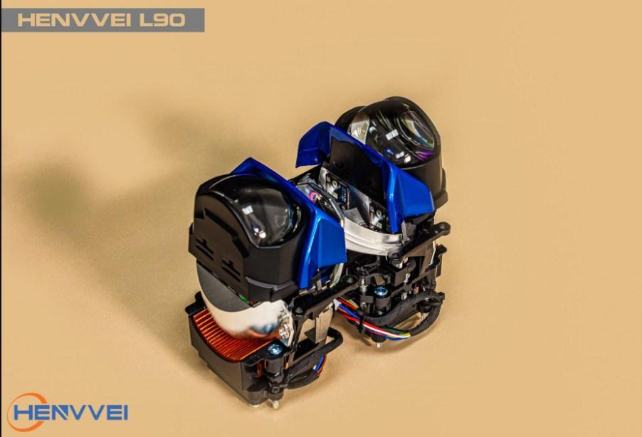 Lắp đặt Bi Led Henvvei L90 uy tín tại Auto 365 Mỹ Đình