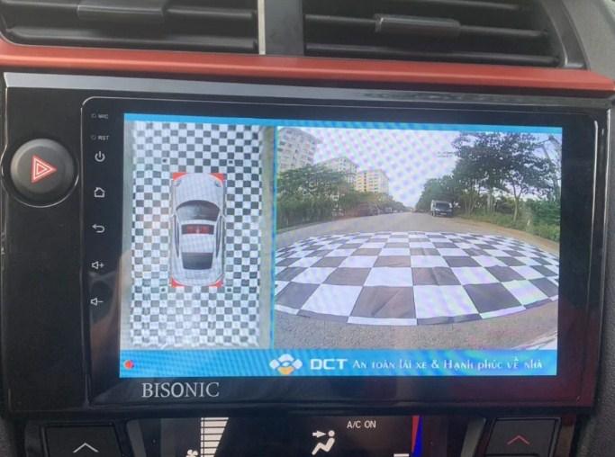 Camera 360 DCT cho xe Honda Brio