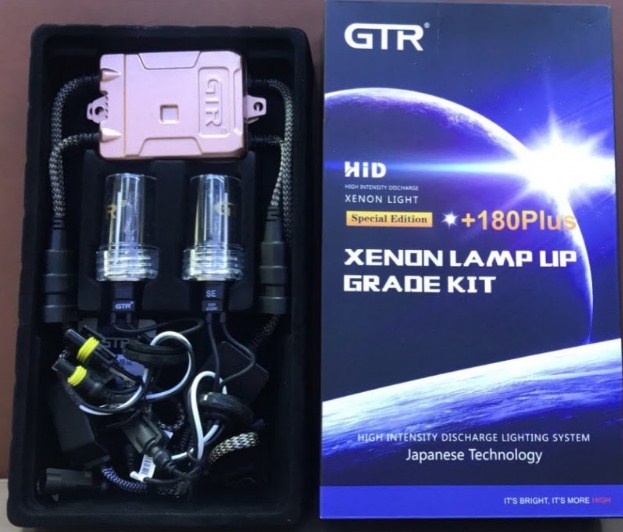 Bộ Kit xenon và Ballast GTR tăng sáng 180 plus - sự lựa chọn tăng sáng hoàn hảo cho ô tô của bạn
