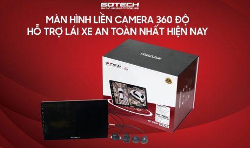Man hinh lien Camera 360 Gotech GT360 Plus chinh hang
