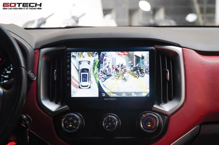 Màn hình liền Camera 360 Gotech GT360 Plus chính hãng là dòng sản phẩm thích hợp với hầu hết các loại xe hơi hiện nay