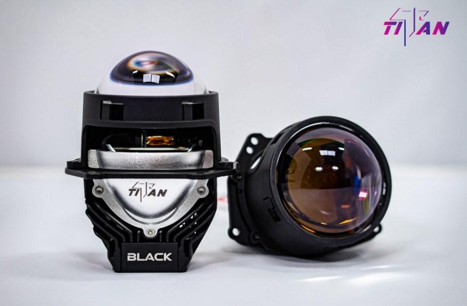 Tham khảo mẫu bi led TITAN BLACK 5000K SE