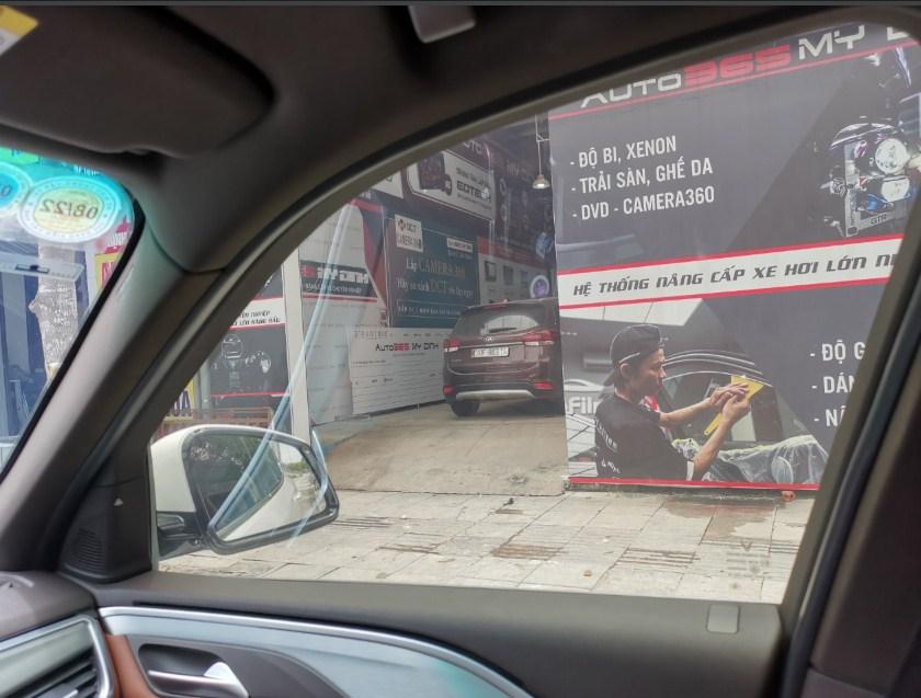 Dán Phim cách nhiệt 3M IR15 kính sườn uy tín tại Auto365 Mỹ Đình Hà Nội