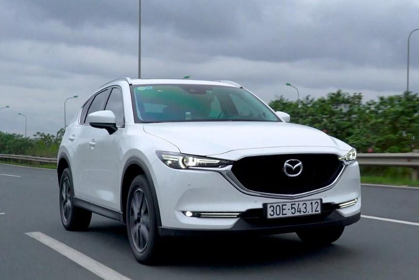 Dán phim cách nhiệt cho xe Mazda CX5