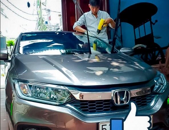 Dán phim cách nhiệt cho xe honda city giúp chống nóng